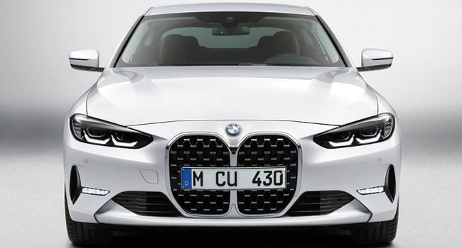 bmw 4 series front